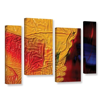 The Approaching Storm 4 Piece Graphic Art on Wrapped Canvas Set