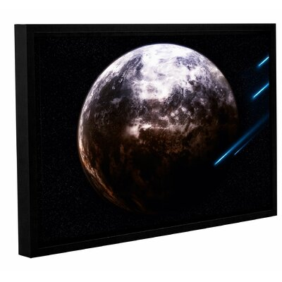 'Atlas Under Siege' Framed Photographic Print on Wrapped Canvas Size: 12