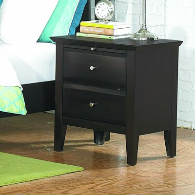 Gliese 2 Drawer Nightstand
