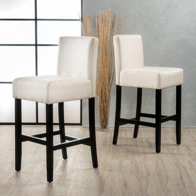 Gabriel 29.5 Bar Stool Upholstery: Beige