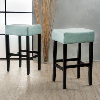 Ingleside 30 Bar Stool Upholstery Color: Light Blue
