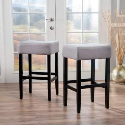 Ingleside 30 Bar Stool Upholstery Color: Gray