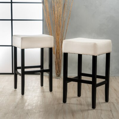 Ingleside 30 Bar Stool Upholstery Color: Beige