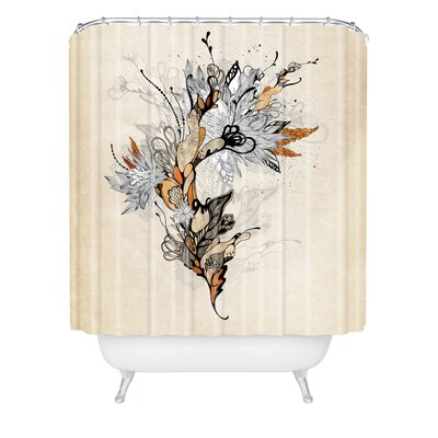 Herkimer Floral 1 Extra Long Shower Curtain