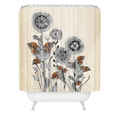 Herkimer Floral 3 Extra Long Shower Curtain
