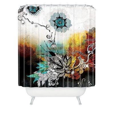 Herkimer Frozen Dreams Extra Long Shower Curtain