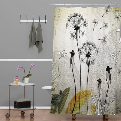 Herkimer Little Dandelion Shower Curtain