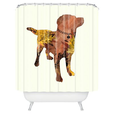 Herkimer Lab Shower Curtain