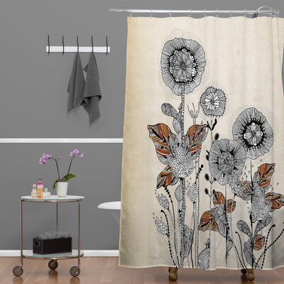 Herkimer Floral 3 Shower Curtain