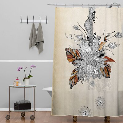 Herkimer Floral 2 Shower Curtain