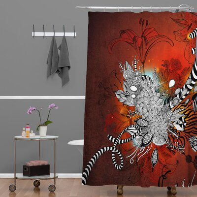 Herkimer Wild Lilly Shower Curtain