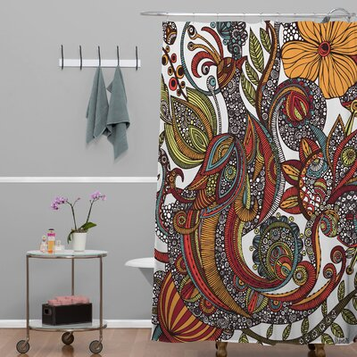 Olney Paradise Bird Shower Curtain