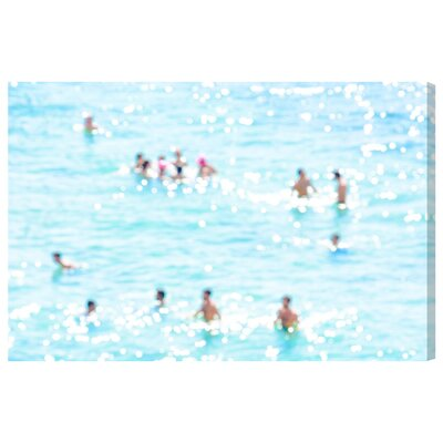 'Afternoon at the Beach' Graphic Art on Wrapped Canvas Size: 10