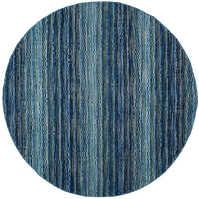 Keith Hand-Loomed Blue Area Rug