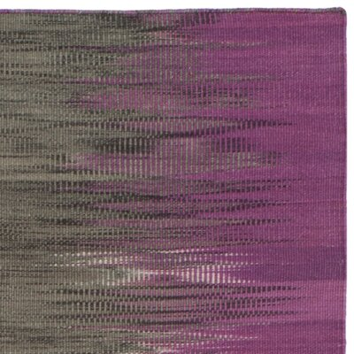 Amerina Hand-Woven Purple/Charcoal Area Rug
