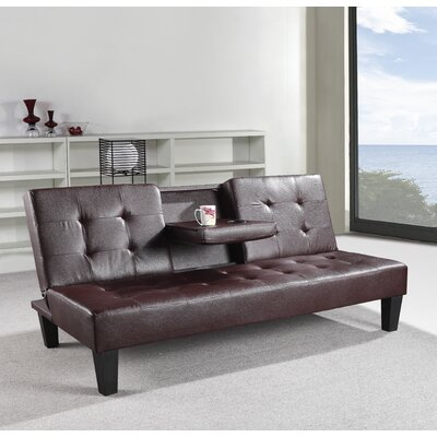 Reichert Convertible Sofa Upholstery: Chocolate