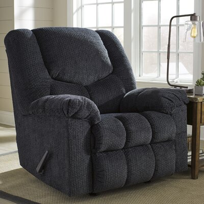 Trigg Manual Rocker Recliner Finish: Slate