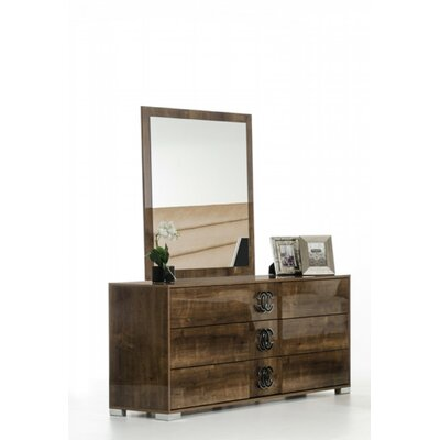 Armadale 3 Drawer Dresser with Mirror