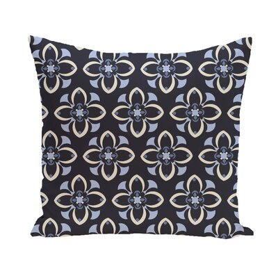 Montross Geometric Print Outdoor Pillow Color: Bordeaux, Size: 18 H x 18 W x 1 D