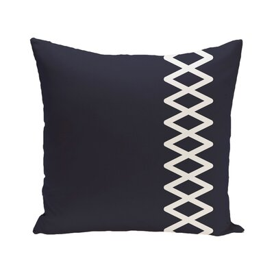 Montross Outdoor Pillow Color: Azure, Size: 18 H x 18 W x 1 D