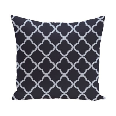 Chesterfield Geometric Print Outdoor Pillow Color: Larkspur, Size: 16 H x 16 W x 1 D