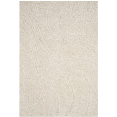 Reidy Creme Area Rug Rug Size: Rectangle 8 X 10