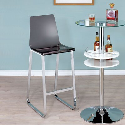 Alberta 30.5 Bar Stool Upholstery: Smoke