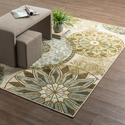 Claireville Area Rug Rug Size: Rectangle 5 x 7