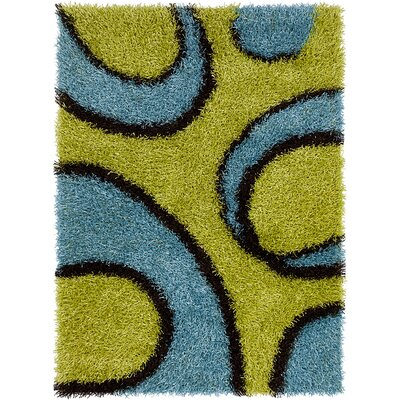 Pictor Green Area Rug Rug Size: 3 x 5
