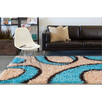 Milstead Brown Area Rug Rug Size: 5 x 7