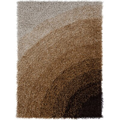 Milstead Brown Area Rug Rug Size: 3' x 5'