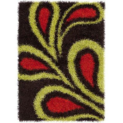 Milstead Black Area Rug Rug Size: 3 x 5