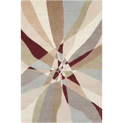 Millwood Hand Tufted Wool Area Rug Rug Size: 5 x 76