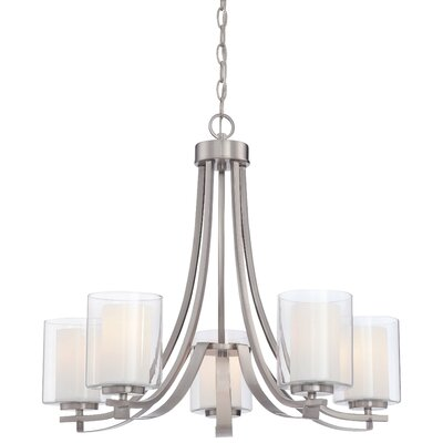 Bensenville 5-Light Candle-Style Chandelier