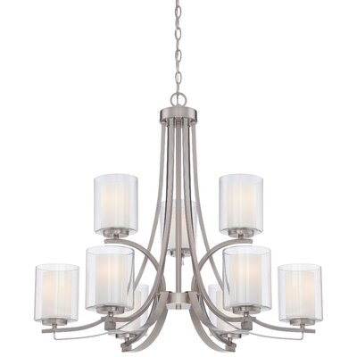 Bensenville 9-Light Candle-Style Chandelier