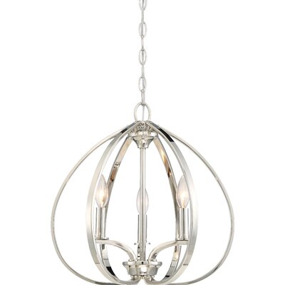 Edgebrooke 3-Light Foyer Pendant