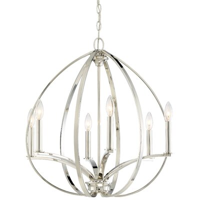 Temaraia 6-Light Foyer Pendant