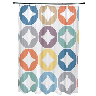 Francisco Eye Opener Shower Curtain Color: Lavender
