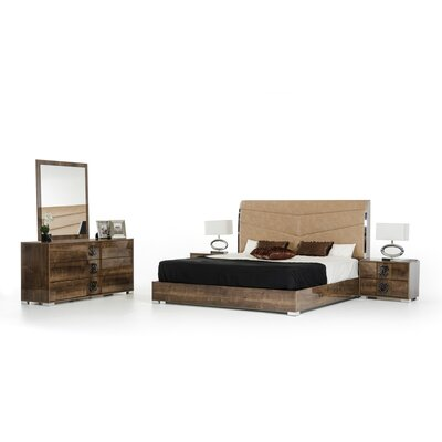 Candlewood 5 Piece Bedroom Set Size: King