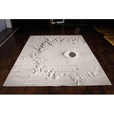 Carire Light Grey Area Rug