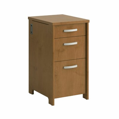 Envoy Pedestal 3 Drawer Vertical File
