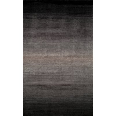 Gilda Hand-Tufted Midnight Black Area Rug Rug Size: Rectangle 23 x 39