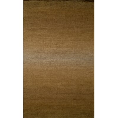 Gilda Hand-Tufted Brown Area Rug Rug Size: Rectangle 23 x 39