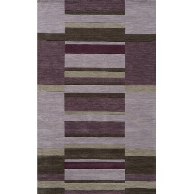 Gilda Hand-Tufted Lilac Area Rug Rug Size: Rectangle 33 x 53