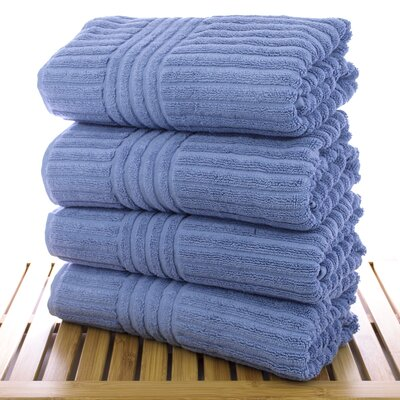 Hilgard Turkish Bath Towel Color: Wedgewood