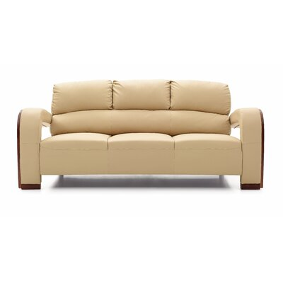 Troy Modern Sofa Color: Beige