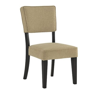 Juno Side Chair (Set of 2) Upholstery Color: Almond