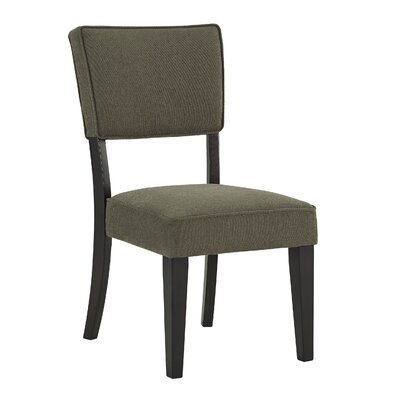 Juno Side Chair (Set of 2) Upholstery Color: Olive