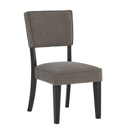 Juno Side Chair (Set of 2) Upholstery Color: Stone
