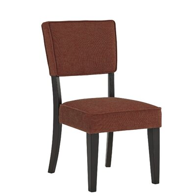 Juno Side Chair (Set of 2) Upholstery Color: Brick